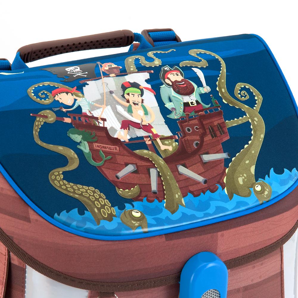 Ars Una Jolly Roger vízlepergető iskolatáska