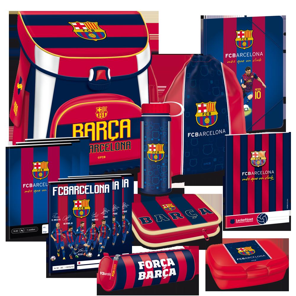 FC Barcelona akciós iskolatáska szett