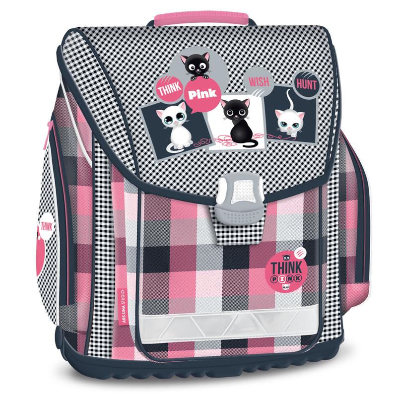 Ars Una Think-Pink iskolatáska elsősöknek 2 év garanciával f4f63426a5