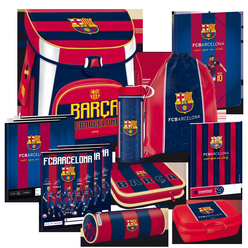 872ea9a3a225 FC Barcelona akciós iskolatáska szett