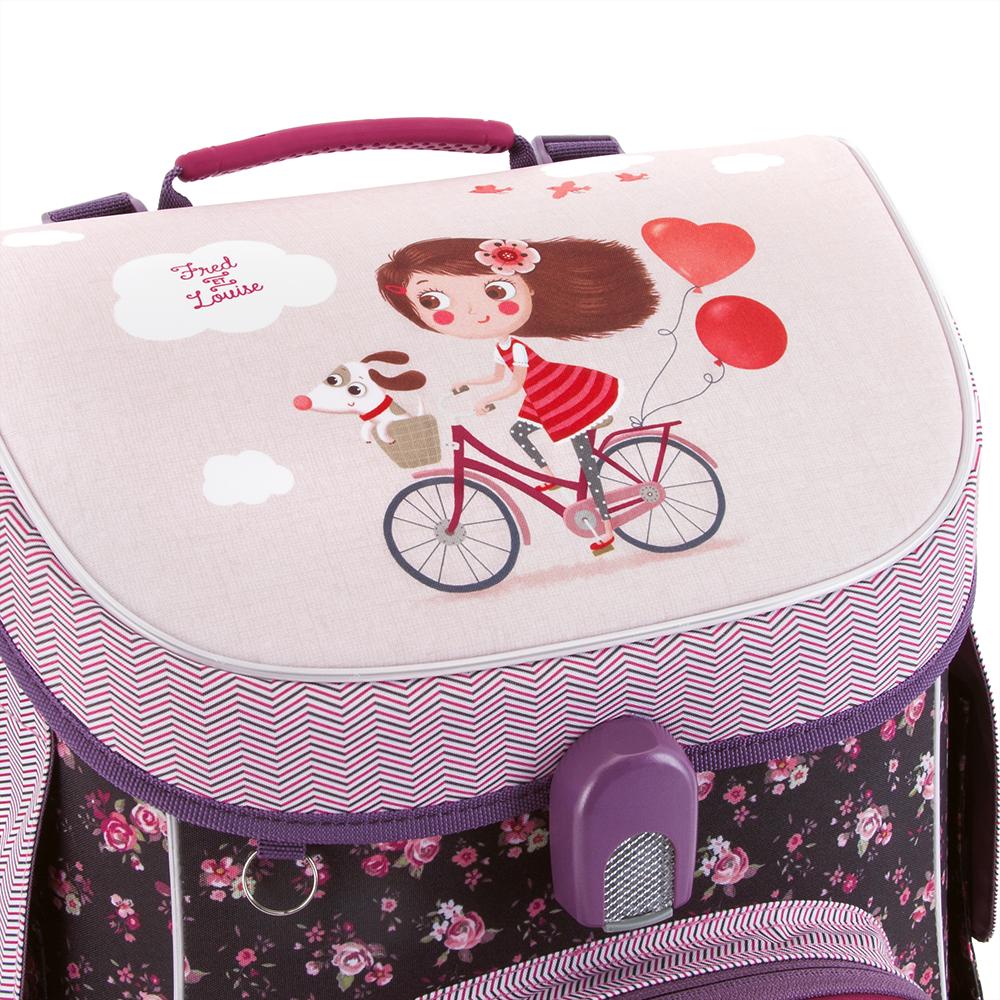 09c20ac23ab2 Ars Una Bon Voyage schoolbag with magnetic lock