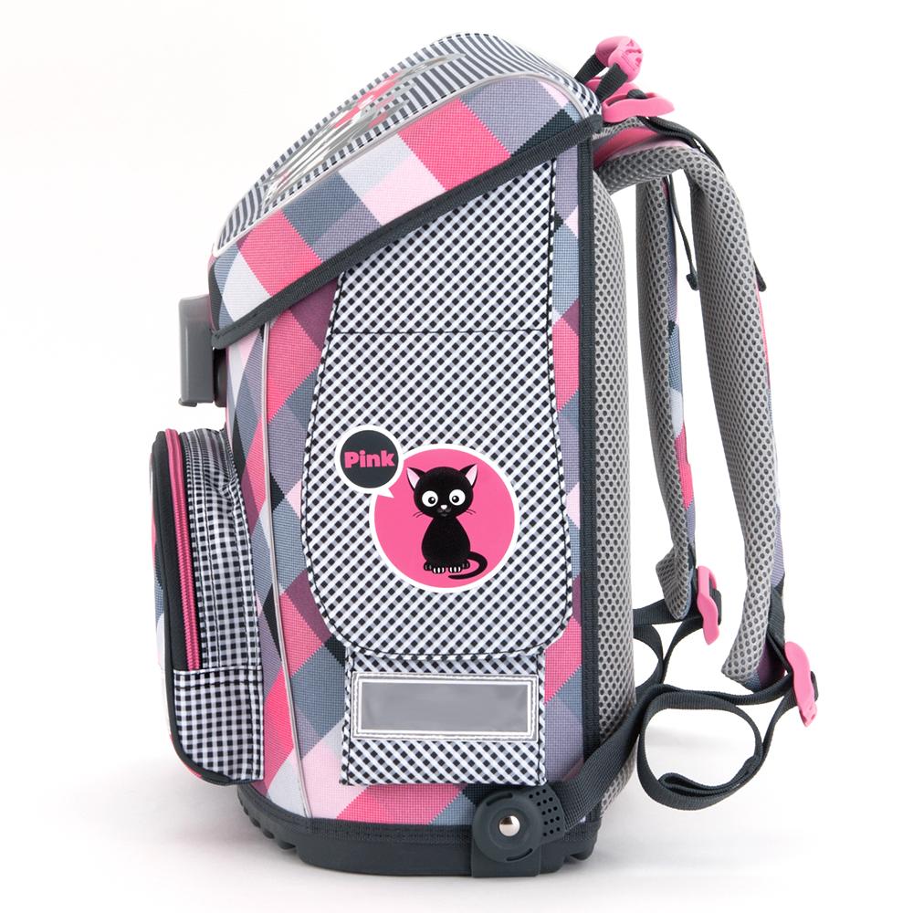 Ars Una Think-Pink cicás mágneszáras iskolatáska fc5f066a24